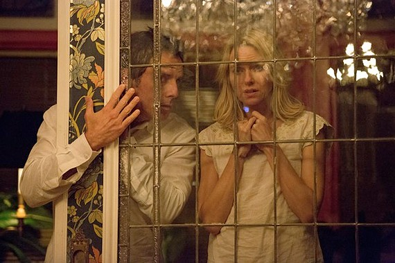 """Ben Stiller and Naomi Watts play a forty-something couple seduced by the charms of a couple young students in """"While We're Young."""""""
