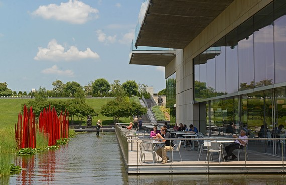 Best Café at the Virginia Museum of Fine Arts is a top tourist draw, with an appealing deck, weekly live jazz and a varied menu served cafeteria style. - SCOTT ELMQUIST