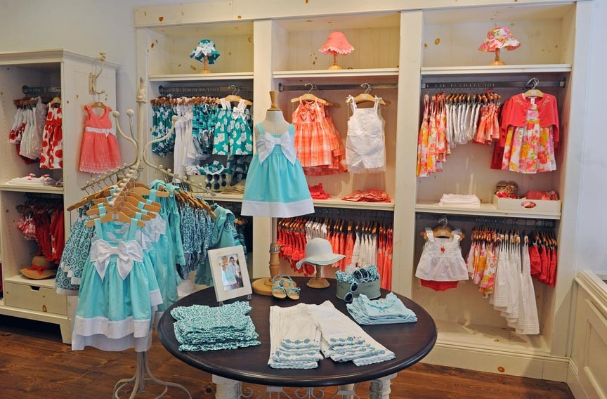 The downtown Vancouver store for Redfish Kids Clothing