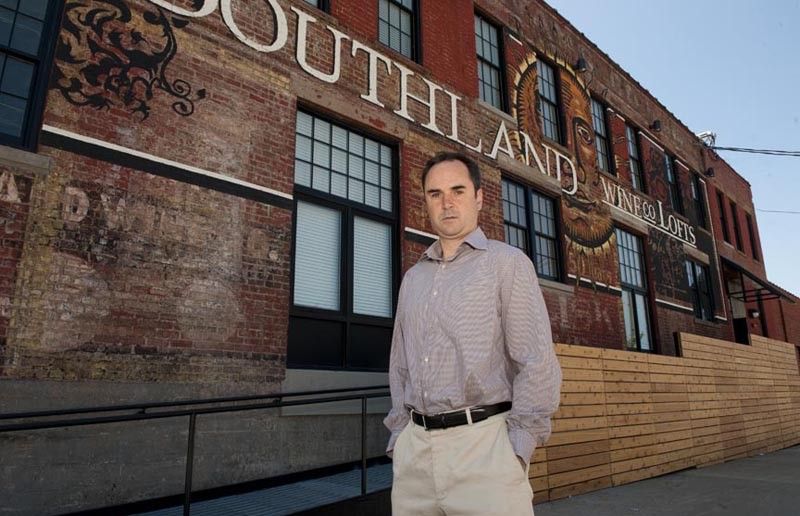 Bill Chapman, longtime Richmond residential developer, thinks Shockoe Bottom has grown beyond simply being an entertainment district. - SCOTT ELMQUIST