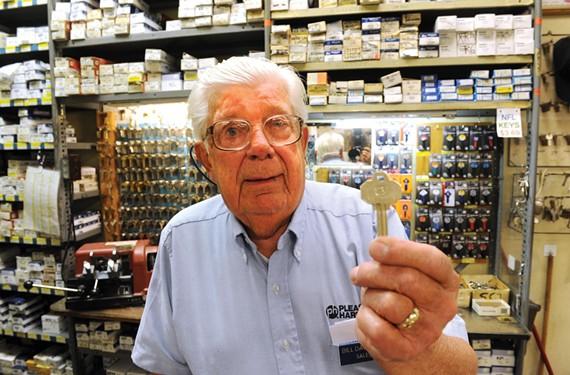 """Bill Davidson, Pleasants' resident """"key guru."""" - SCOTT ELMQUIST"""