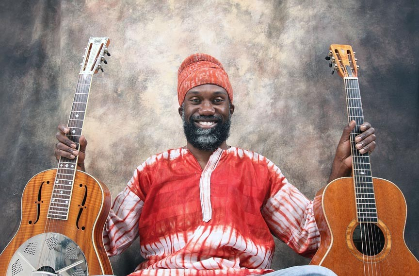 """Blues guitarist and singer Corey Harris recently released """"Fulton Blues."""""""