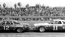 Bobby Allison and Cale Yarborough, February 1973