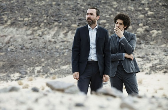 Brian Burton, right, aka Danger Mouse, stands alongside his partner in Broken Bells, James Mercer of Shins fame. Esquire magazine listed Burton as one of the 75 most influential people of the 21st century.