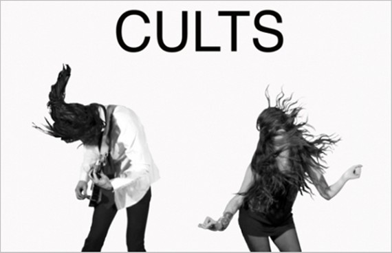 Brian Oblivion and Madeline Follin of Cults