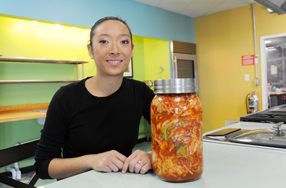 Cassie Keene is known for making kimchee, a Korean pickled dish, for chefs and friends. Now she's asking some of them to compete in a kimchee tasting challenge, set for June 10th at Kitchen Thyme. - SCOTT ELMQUIST