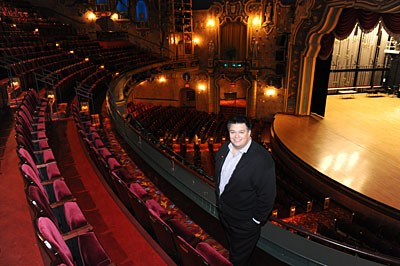 "CenterStage's new executive director, Richard Parison, has his work cut out for him. ""It should be the catalyst for the arts in this community,"" the veteran arts administrator says of Richmond's downtown performing arts center. ""We don't know what the future will hold. We're still figuring that out."" Photo by Scott Elmquist."