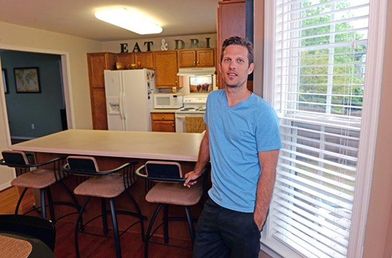 Chad Williams says renting out his house in the near West End through Airbnb provides more than extra income — it allows him to meet interesting guests.