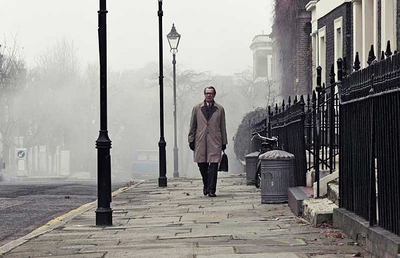 Change agent: Gary Oldman goes undercover in a thrilling new version of John le Carré's indelible spy tale. - JACK ENGLISH
