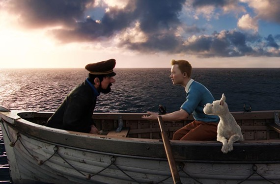"""Chase sequences run amuck: """"The Adventures of Tintin."""""""