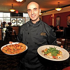 Chef and owner Vito Bellantuono, raised in the restaurant business, brings his Italian specialties to La Cucina Ristorante & Pizzeria in Midlothian. Photo by Scott Elmquist.