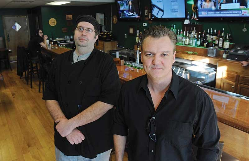 Chef Jason Thrasher and owner Kyle Sinclair bring Irish and American flavors to the Fan at their new business, the Local Eatery and Pub. - SCOTT ELMQUIST