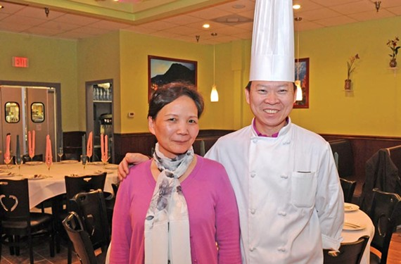 Chef Peter Chang and Lisa Chang - SCOTT ELMQUIST