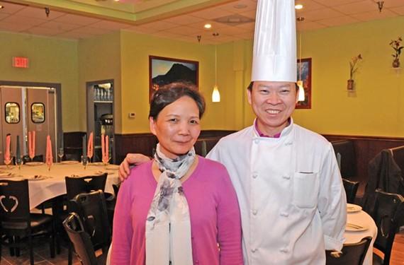Chef Peter Chang and Lisa Chang - SCOTT ELMQUIST