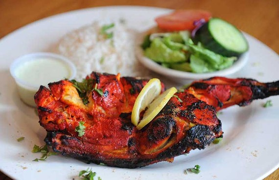 Chicken tandoori is a menu favorite at the new Short Pump home of Kabab Grille, which relocated from Chesterfield. - SCOTT ELMQUIST