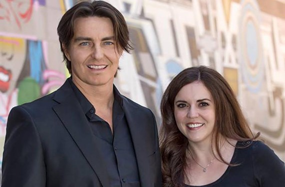 Chris Parker and Kris Taylor started as hosts of Lite 98's morning show in January. Now they will face their predecessors, Bill Bevins and Shelly Perkins, who are going to work for new competition.