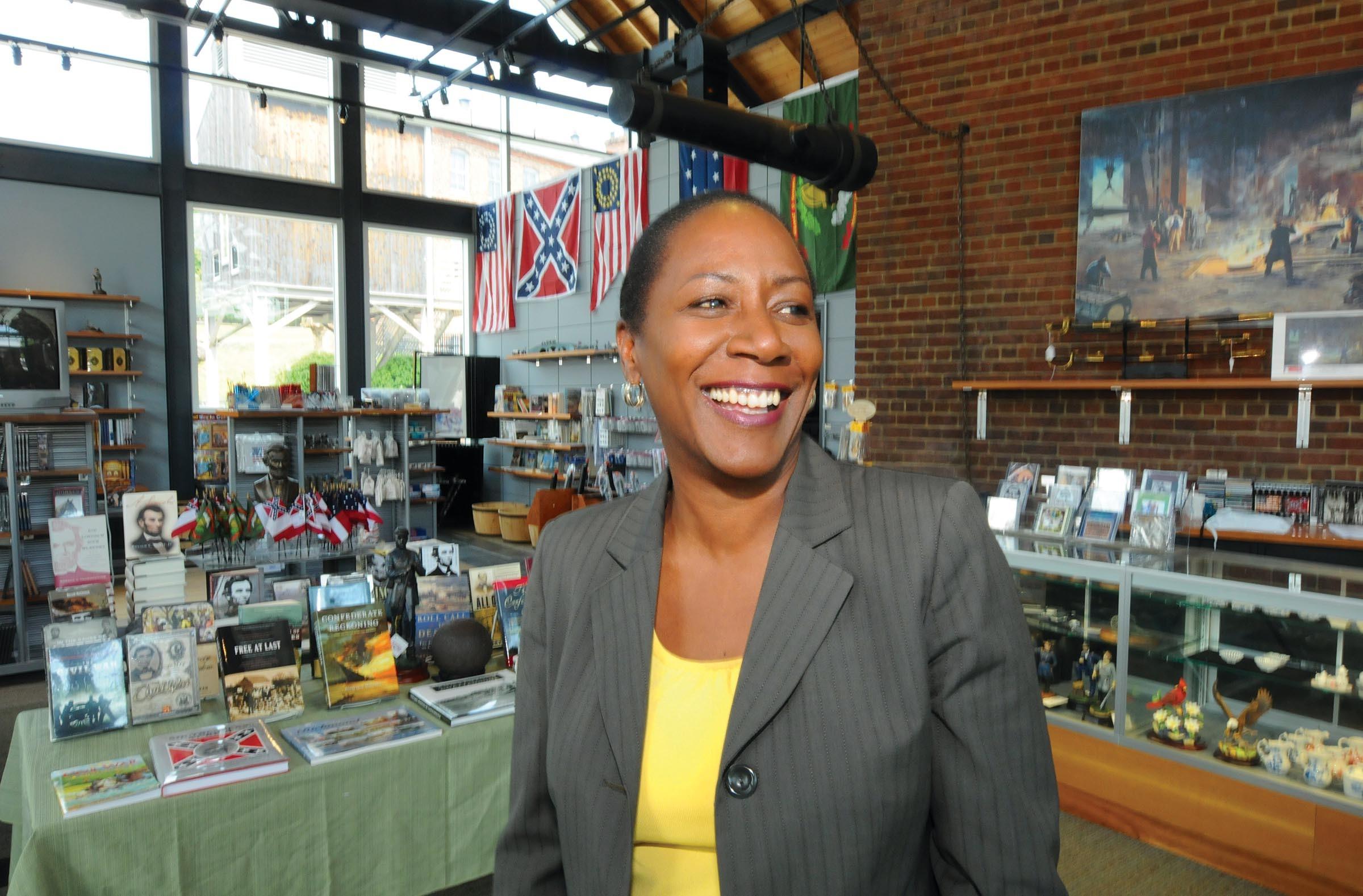 Christy Coleman, president of the American Civil War Center - SCOTT ELMQUIST