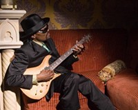 """Chuck Brown, the inventor of go-go music, doesn't think of playing music as work. """"I ain't had a day job in over 40 years. I thank God for that."""""""