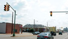 City Considers Nixing Stoplights on West Broad