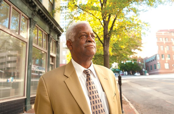 City Councilman Marty Jewell, a vocal critic of Mayor Dwight Jones, is among a handful of incumbents fighting for survival in an otherwise quiet election season. - SCOTT ELMQUIST