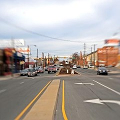 City residents say they'd like to see more retail and a livelier mix of uses for the Boulevard north of Broad Street. Photo by Scott Elmquist