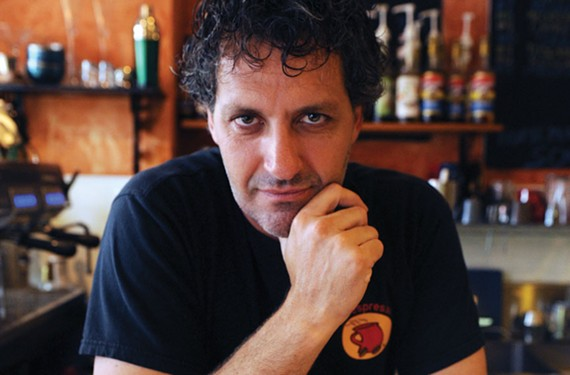 Claudio Ragazzi brings Italian to a Carytown corner this spring. He's known for his soulful conversational skills in Italian and English.