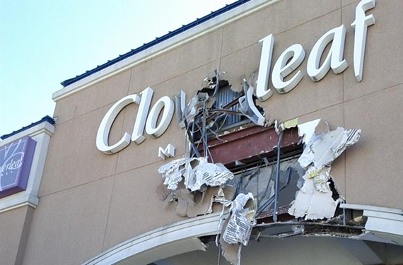 Cloverleaf Mall, which opened in 1972, will soon be demolished to make way for a new Kroger, shops and housing. - SCOTT BASS