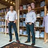 Co-owners Trible and Watson, in their Shockoe Slip store.