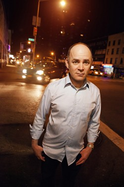 Comedian Todd Barry brings his low-key delivery to Gallery5 next Sunday, March  29th. - MINDY TUCKER