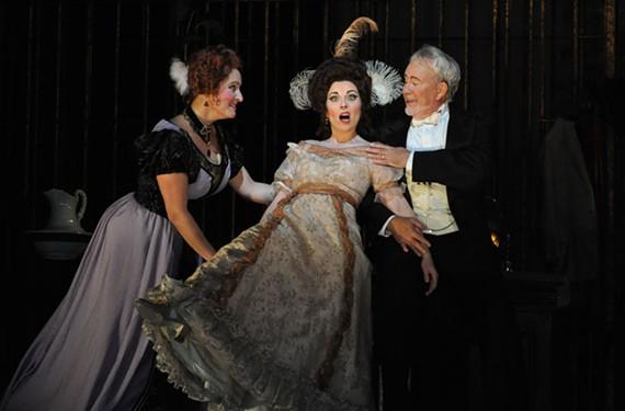 """Dancing takes center stage in Virginia Opera's """"Die Fledermaus."""" - DAVID A. BELOFF"""
