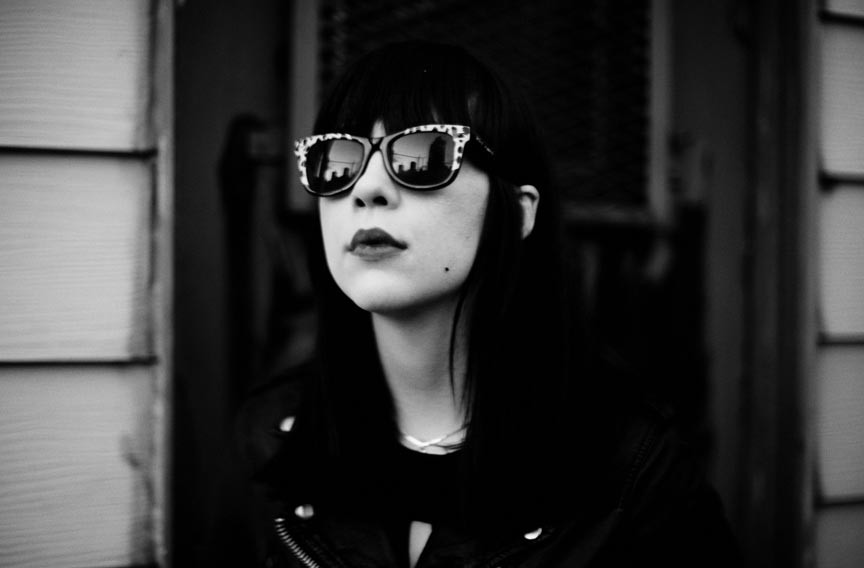 "Dee Dee Penny of Dum Dum Girls takes her style and songwriting inspiration from older bands such as the Shangrilas and Chrissie Hynde and the Pretenders. ""I've always preferred artists with a defined aesthetic,"" she says. - SHAWN BRACKBILL"