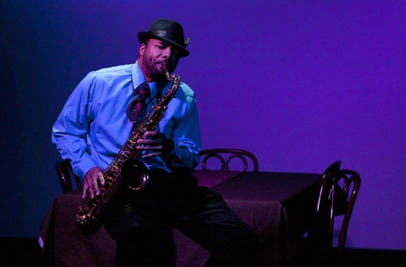 Delvin Young plays saxophone player Wendal who struggles with an AIDS diagnosis in the early '90s. - DAVID WHITE
