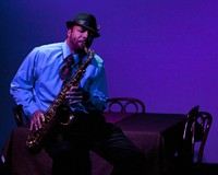 Delvin Young plays saxophone player Wendal who struggles with an AIDS diagnosis in the early '90s.