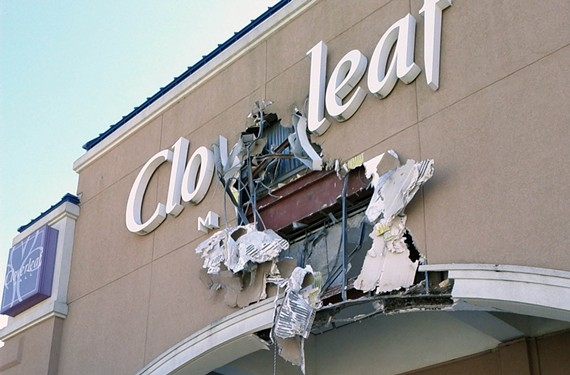 Demolition on the obsolete but venerable Cloverleaf Mall, right, began in 2011 to make way for a new shopping center anchored by Kroger Marketplace in Midlothian (below). - SCOTT ELMQUIST