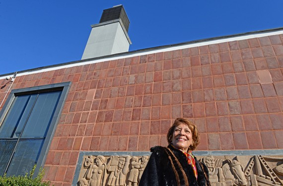 Dianne Watkins hopes a milestone anniversary will help draw attention to restoration efforts for the Belgium masterpiece on VUU's campus.