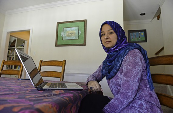 Dilshad Ali manages the Muslim channel of Patheos.com from her home office in the Short Pump area. The multifaith website averages 250,000 visitors a month. She says there are countless new media ventures and often little is known about who runs them. - SCOTT ELMQUIST