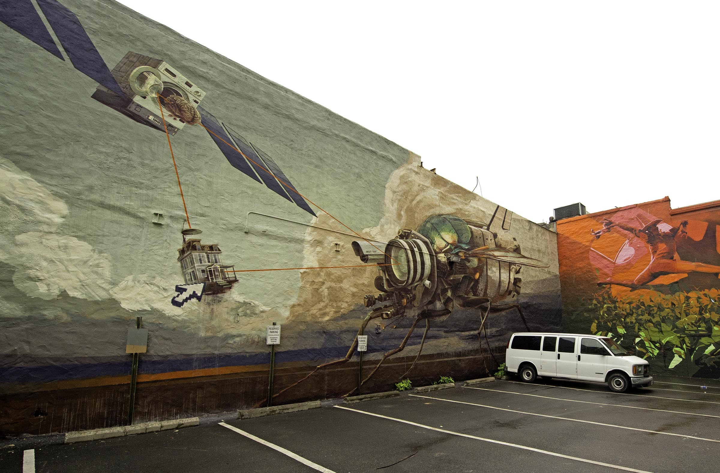 """""""Doom Loop,"""" by the Swiss duo West 21 and Onur, is located at 501 E. Grace St. - SCOTT ELMQUIST"""