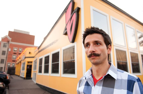 Drinkers' thinker: - The legal profession may well be the future for longtime bartender and law-degree holder Otto Bartsch, but for now he finds joy holding court at Bandito's Burrito Lounge. - SCOTT ELMQUIST