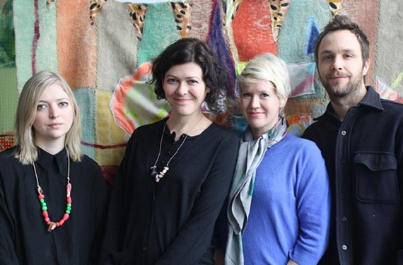 Elizabeth Whitcomb, Nana Spears, Naomi Clark and Noah Spencer
