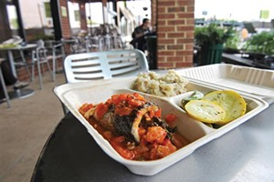 Ellwood Thompson's uses compostable carry-out containers. - SCOTT ELMQUIST