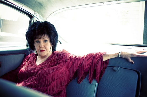 """Elvis Presley once picked her up in a pink Cadillac: """"We spent the afternoon in his bedroom listening to records. His mom was home, so it was all above-board."""""""