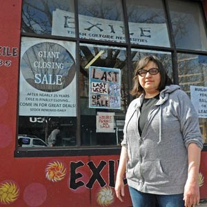 """Exile on Grace Street: Owner Mimi Regelson closed Richmond's long-running alternative boutique. """"I just felt like 24 and a half years is enough time to do one thing."""" Photo by Scott Elmquist"""