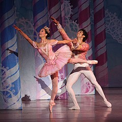 """Fernando Sabino de Jesus is paired with Maggie Small in Richmond Ballet's current production of """"The Nutcracker."""" """"He is the kind of dancer [you] want to work with because he is so willing to try anything,"""" choreographer Jessica Lange says of the Brazilian dancer. """"He takes risks with his movement and his passion for dance is very clear."""""""