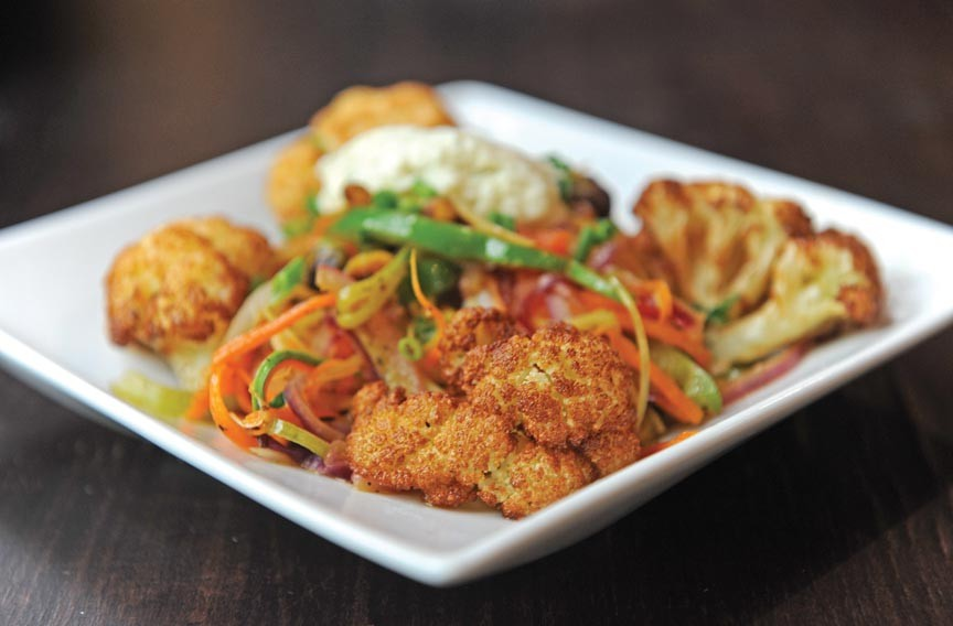 Fried cauliflower at Cous Cous is among the small plates on a new, sharable menu. - SCOTT ELMQUIST