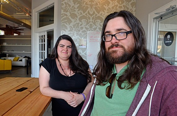 From fifth-grade sweethearts to promoters of Richmond's indie video-game scene, Lauren Vincelli and Will Blanton are closer than Mario and Luigi. - SCOTT ELMQUIST