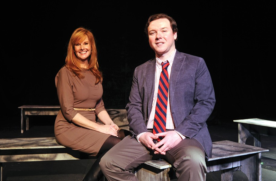 Gini Mallory, the Firehouse's managing director, and Jase Smith, the interim artistic director, are working to restore the theater's reputation after a month of turmoil. - SCOTT ELMQUIST