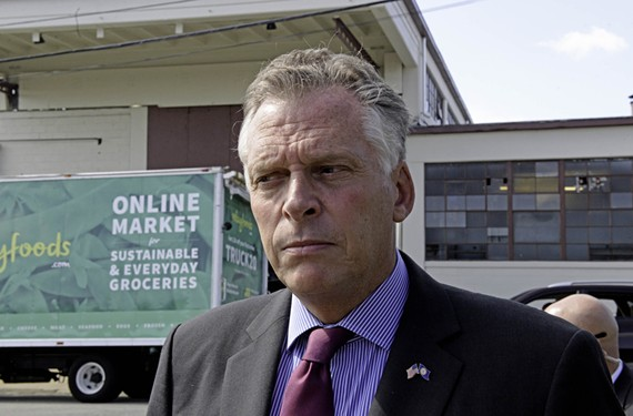 Gov. McAuliffe is up for a ballpark.