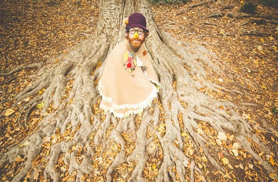 Grandma Sparrow is the absurdist alter ego of Durham-based Joe Westerlund, a composer, vocalist and percussionist known for his work with avant-folk and rock groups Megafaun, Califone and Mount Moriah.