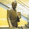 Hail to Trani! VCU Unveils His Bronze Image