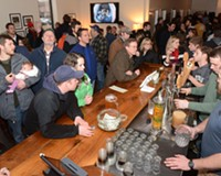 Hardywood Park Craft Brewery draws a crowd in February for a River City Barn Dance party, one of many regular events that keeps beer fans packing the place.